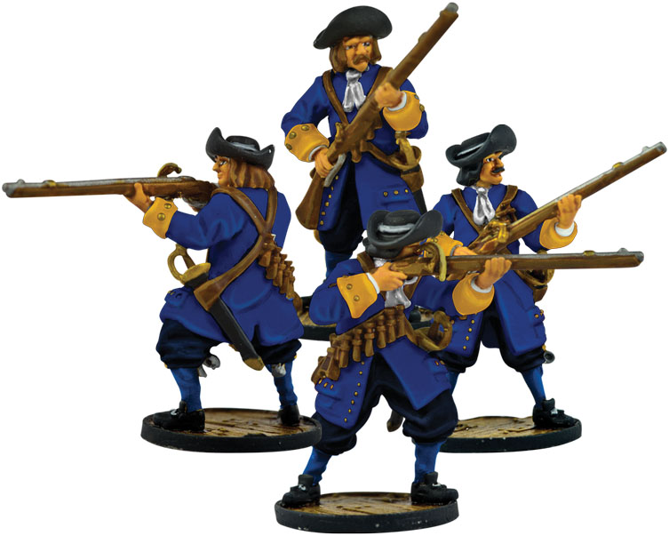Blood & Plunder: European Soldiers Box Front