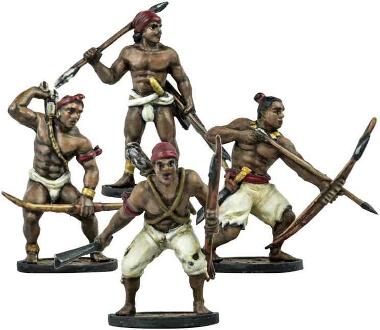 Blood & Plunder: Native American African Warriors Unit Box Front