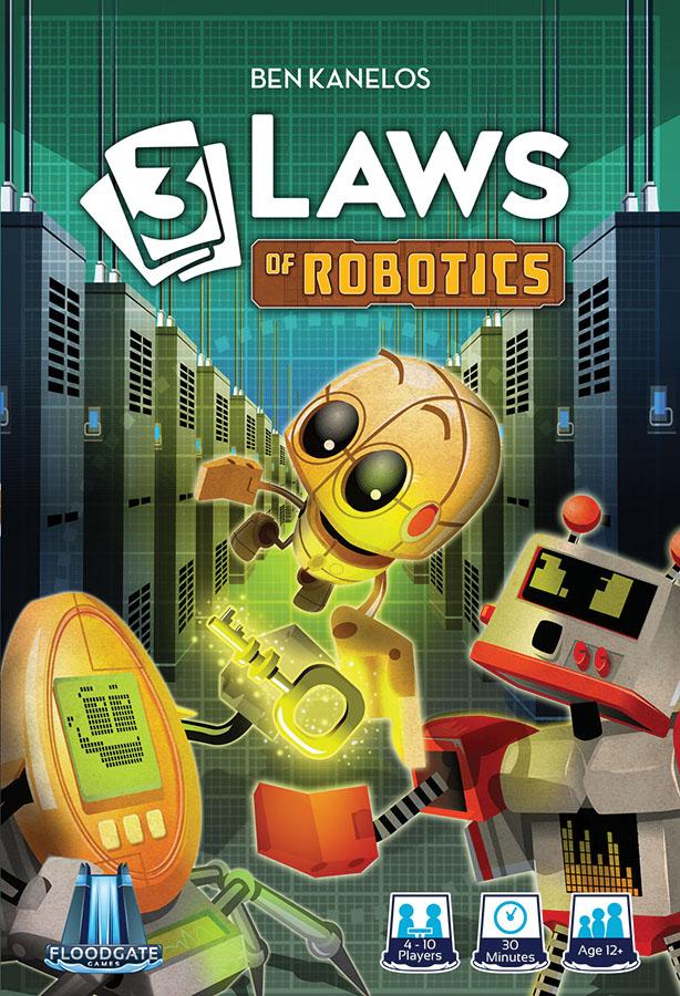 3 Laws Of Robotics Game Box