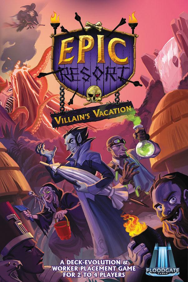 Epic Resort: Villain`s Vacation Expansion Box Front