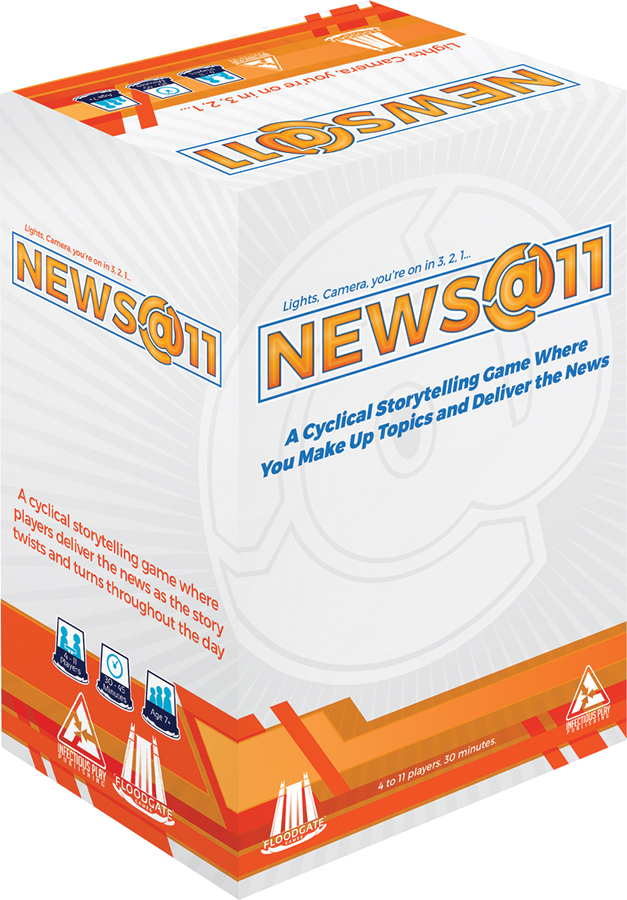 News At 11 Box Front