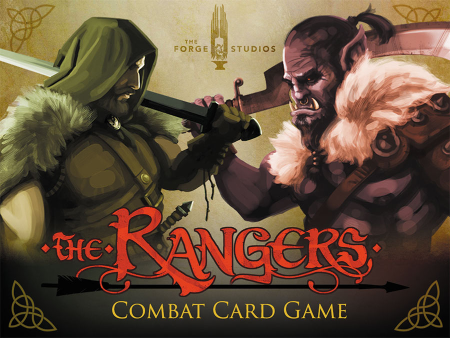 The Rangers Combat Card Game Box Front