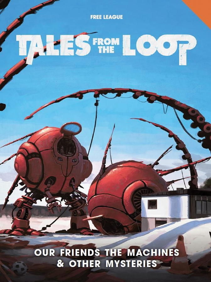 Tales From The Loop: Our Friends The Machines & Other Mysteries Game Box
