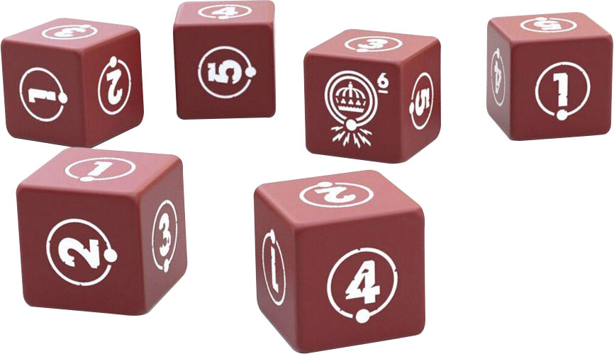 Things From The Flood Dice Set Game Box
