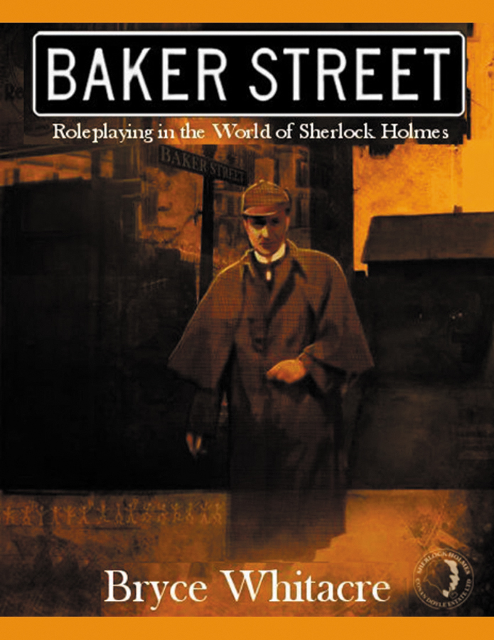 Baker Street: Roleplaying In The World Of Sherlock Holmes Box Front