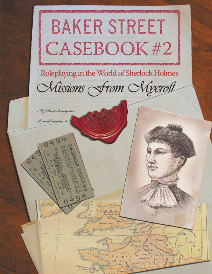 Baker Street: Casebook #2 - Missions From Mycroft Box Front