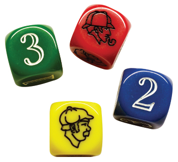 Baker Street: Icon Dice (2) Box Front