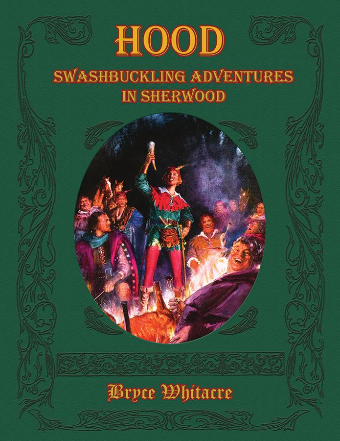 Hood: Swashbuckling Adventures In Sherwood Box Front