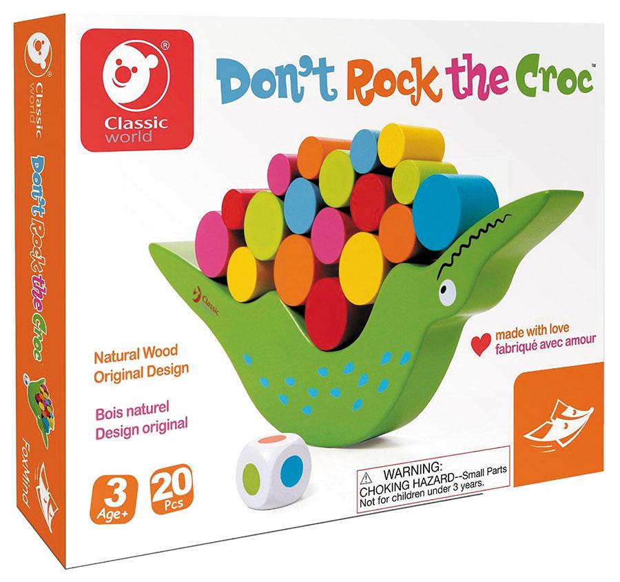 Don`t Rock The Croc Box Front