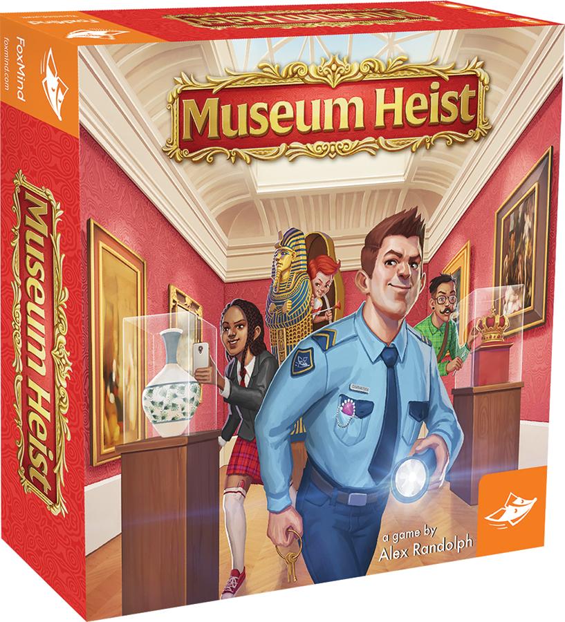 Museum Heist Box Front
