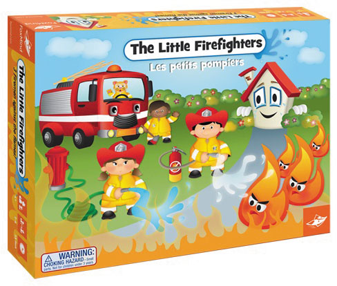 Little Firefighters Box Front