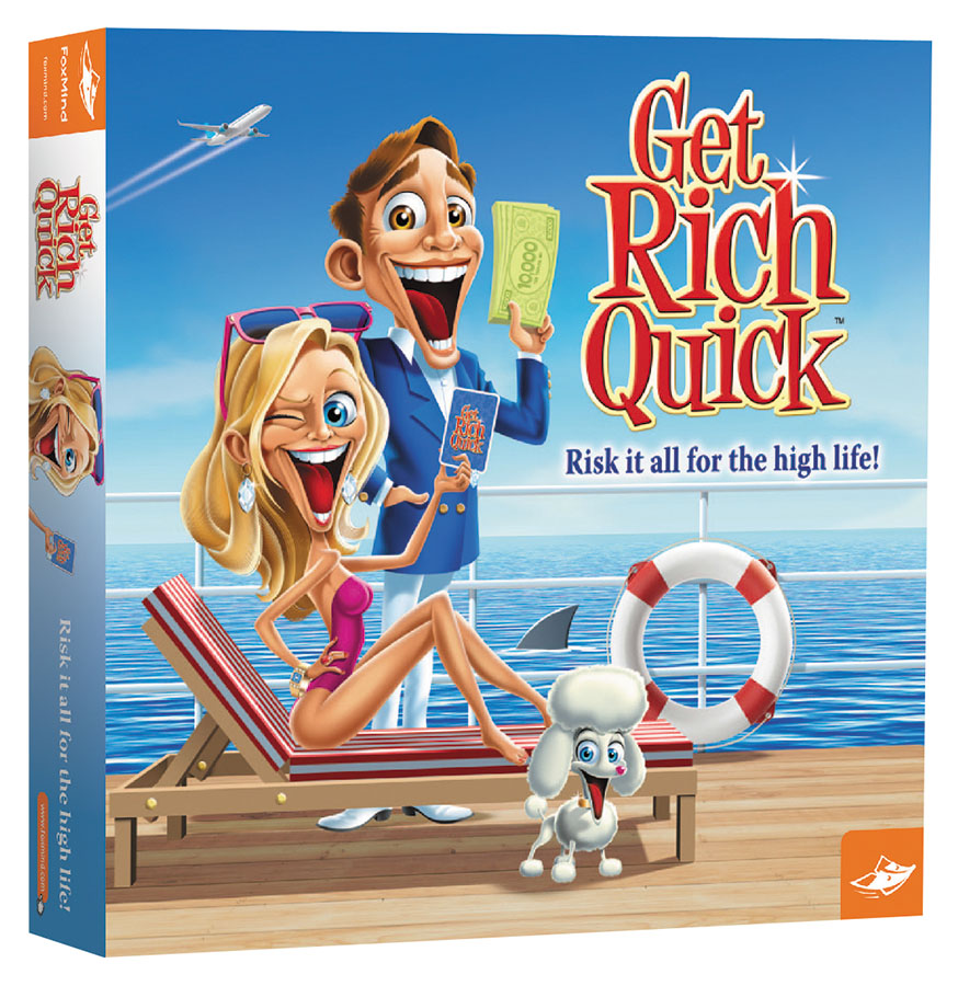Get Rich Quick Box Front