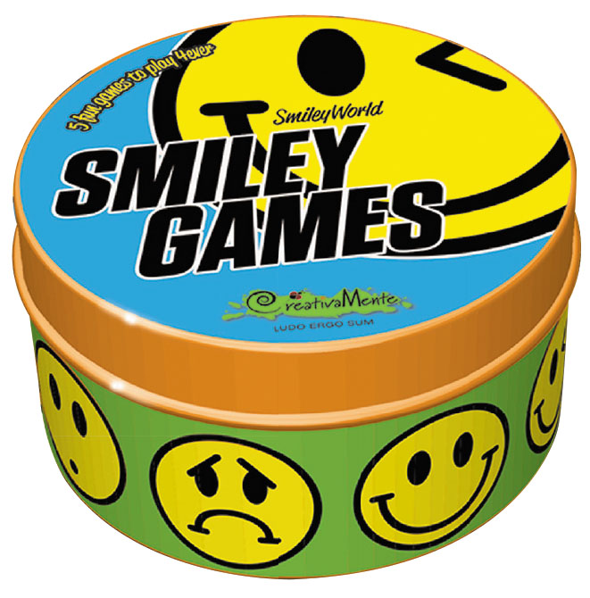 Smiley Games Box Front