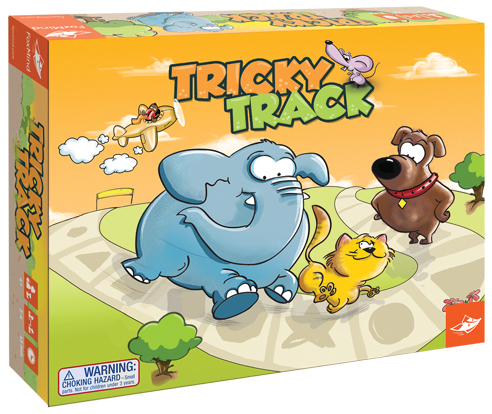 Tricky Track Box Front