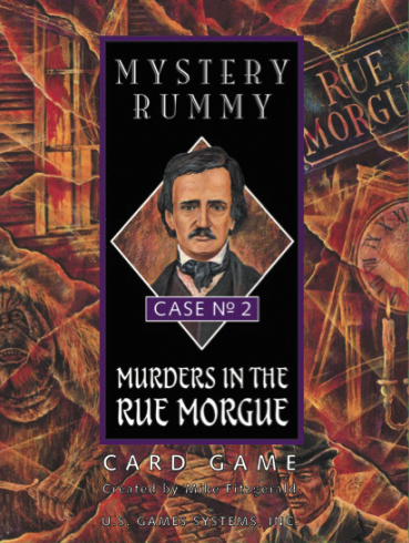 Mystery Rummy: Murders In The Rue Morgue Box Front