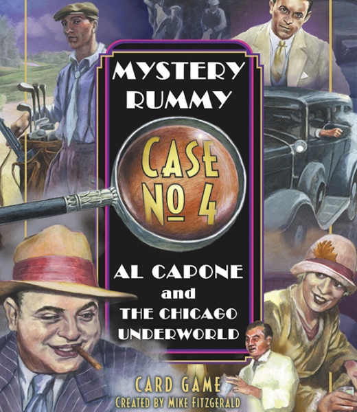 Mystery Rummy: Al Capone Box Front