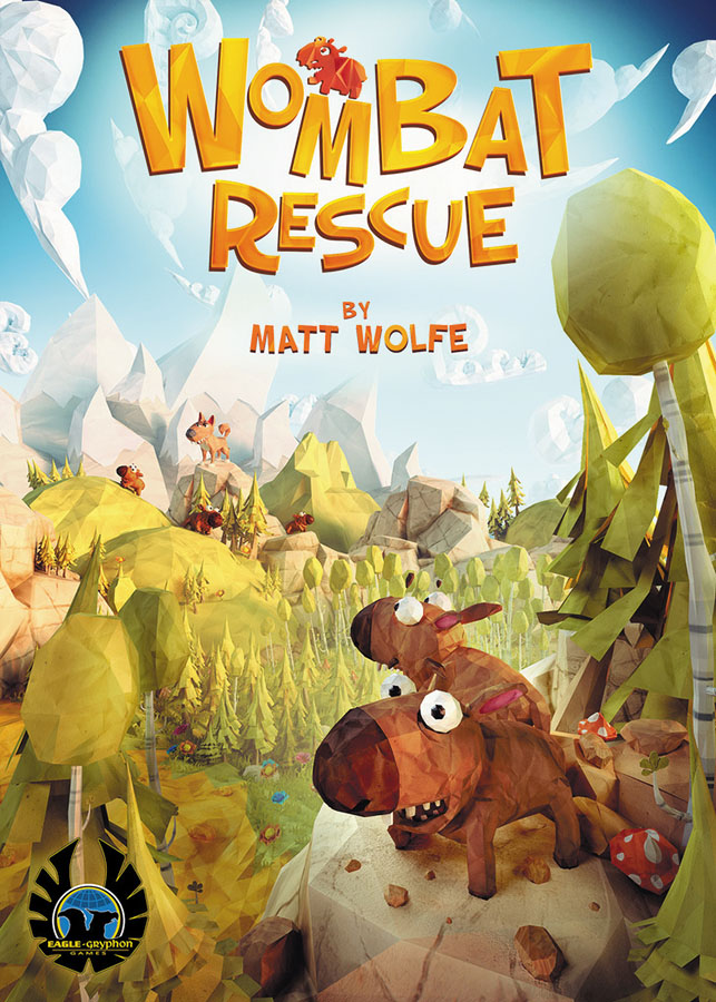 Wombat Rescue Game Box