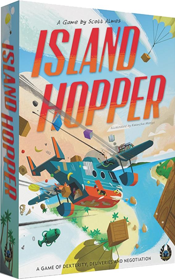 Island Hopper Box Front