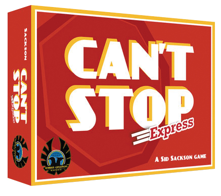 Can`t Stop Express Box Front
