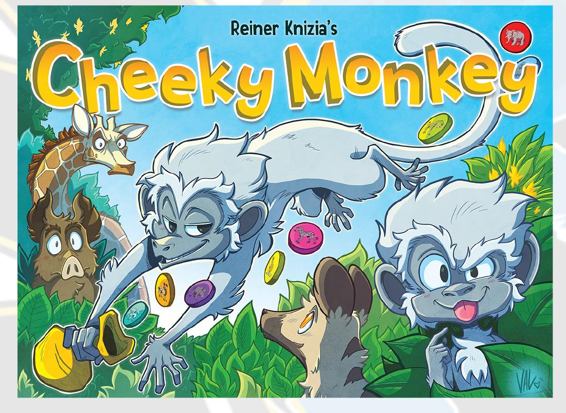 Cheeky Monkey Box Front