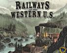 Railways Of The World: Railways Of The Western U.s. Expansion Box Front