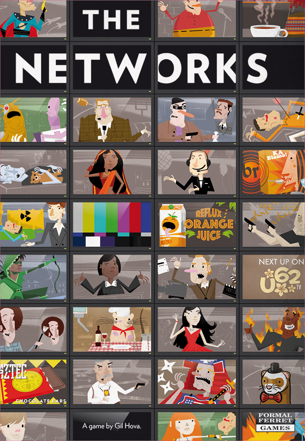 The Networks Box Front