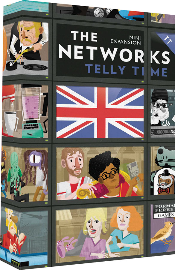 The Networks: Telly Time Box Front