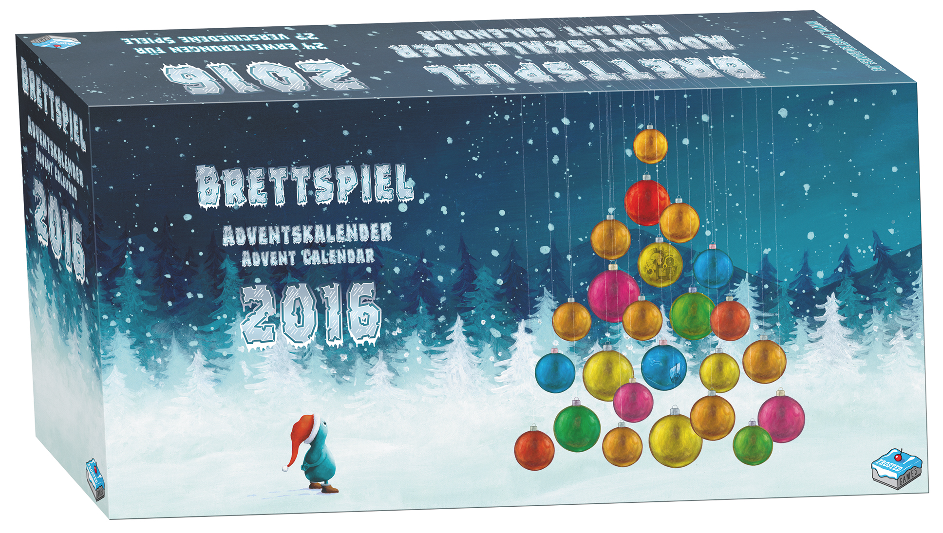 Brettspiel Advent Calendar 2016 Box Front