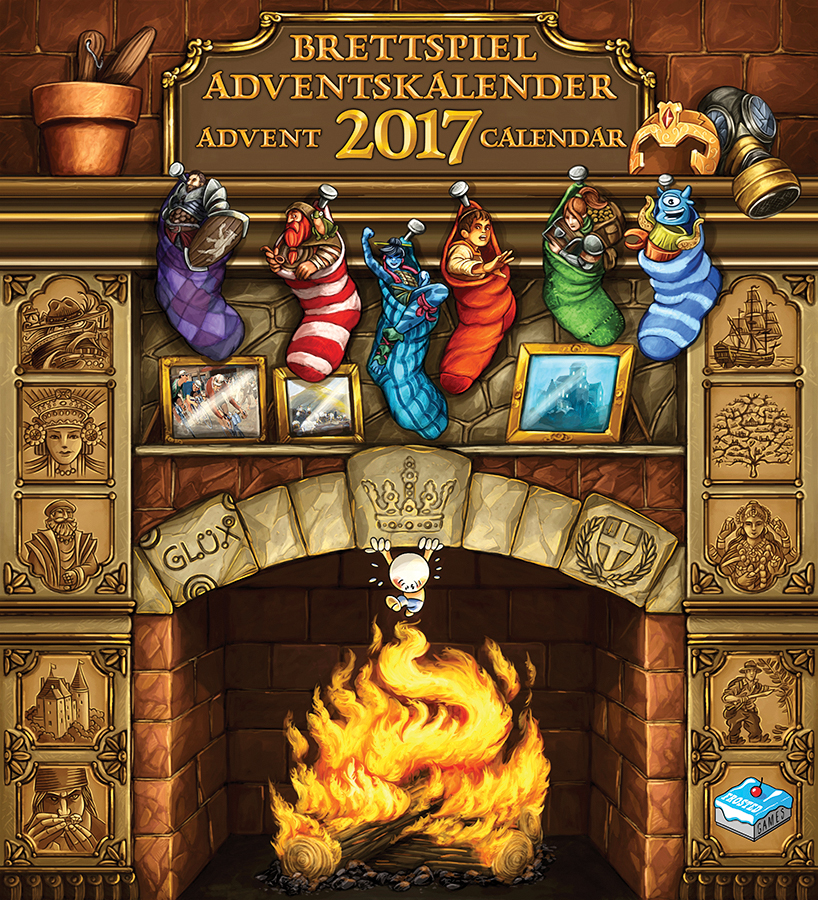 Brettspiel Advent Calendar 2017 Box Front