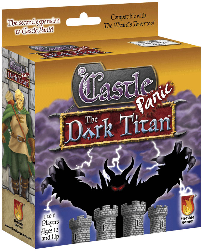Castle Panic: The Dark Titan Expansion Box Front