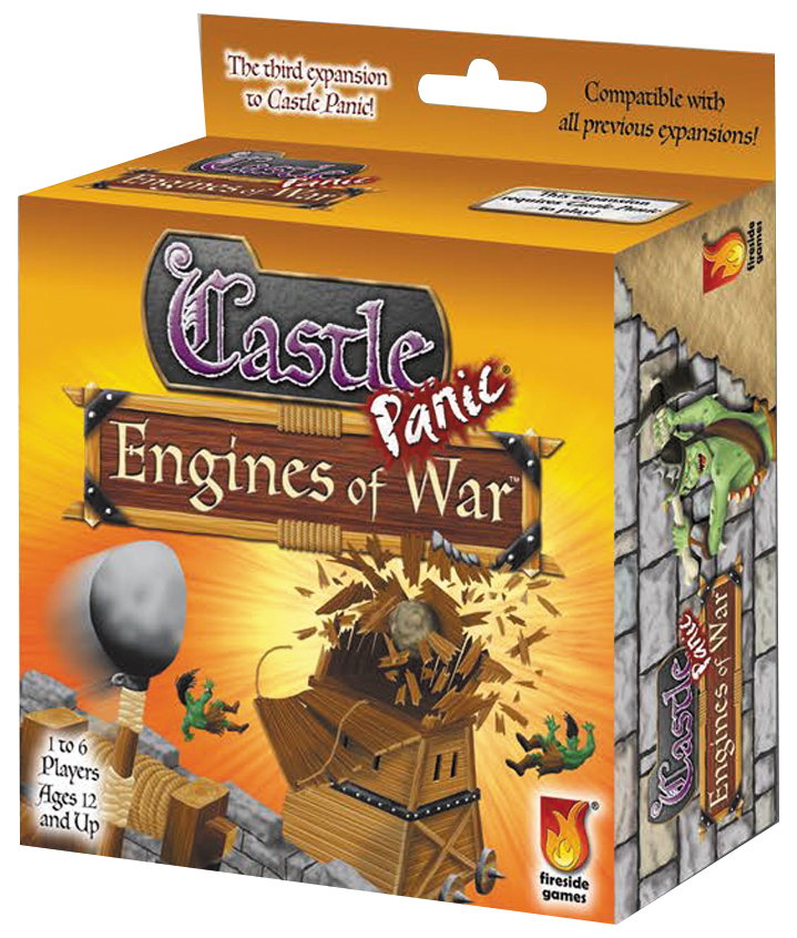 Castle Panic: Engines Of War Expansion Box Front