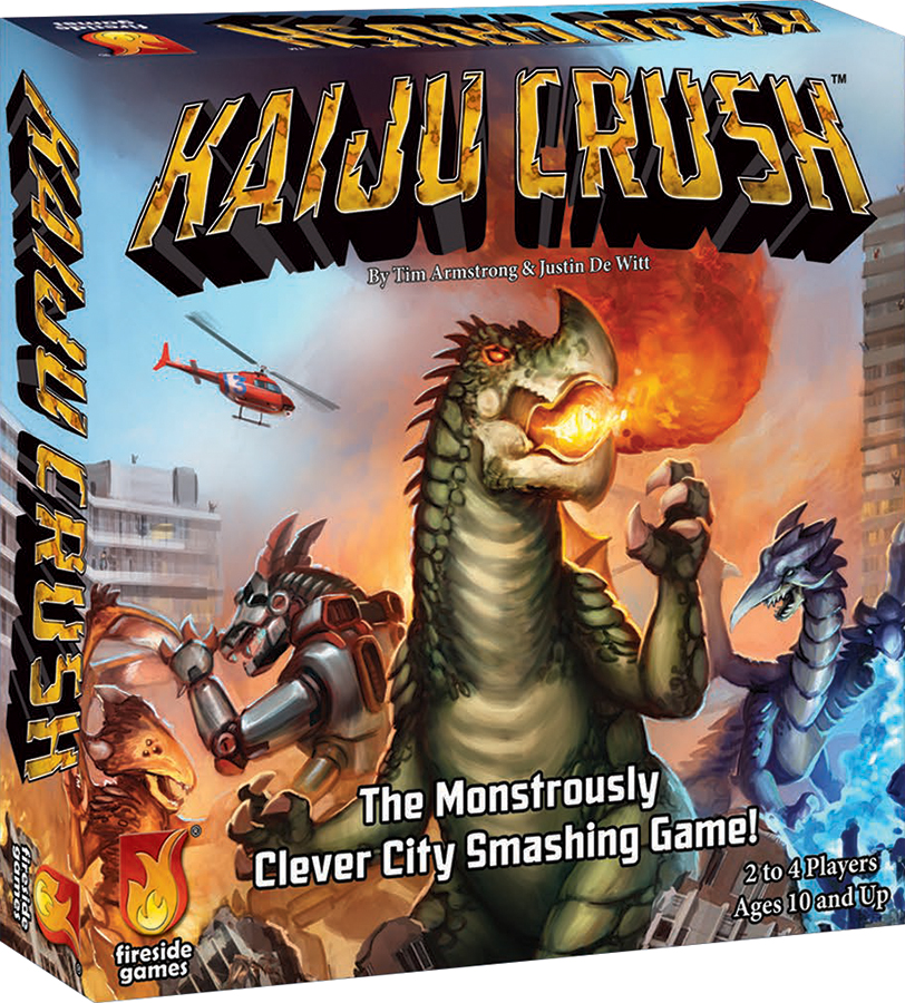Kaiju Crush Box Front