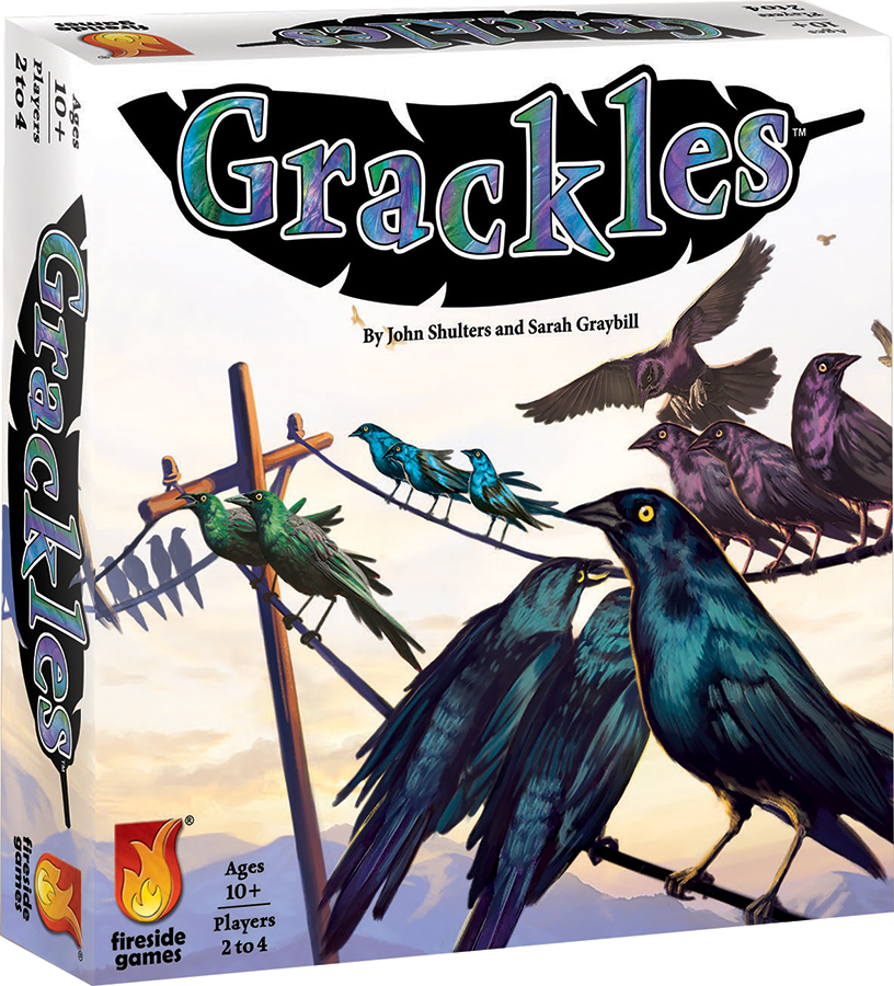 Grackles Box Front