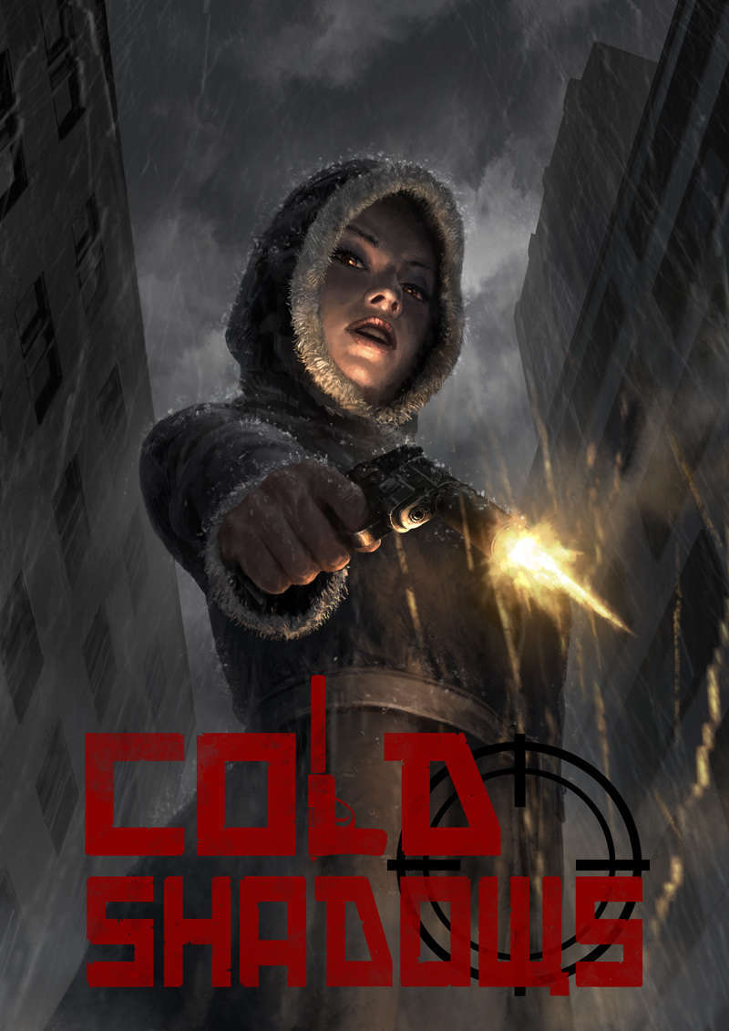 Cold Shadows Rpg Game Box