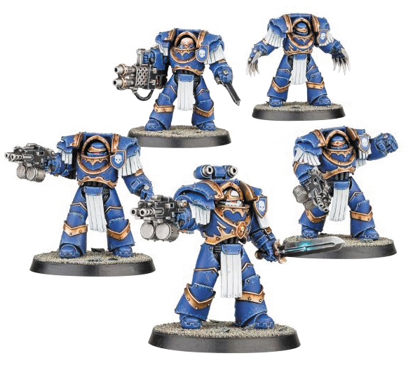 Warhammer 40k: Space Marines Horus Heresy - Cataphractii Terminators Box Front