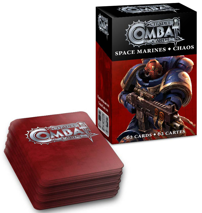 Warhammer 40k: Combat Cards Card Game Box Front