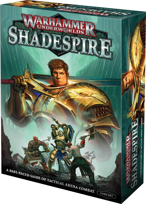 Warhammer Underworlds: Shadespire Game Box