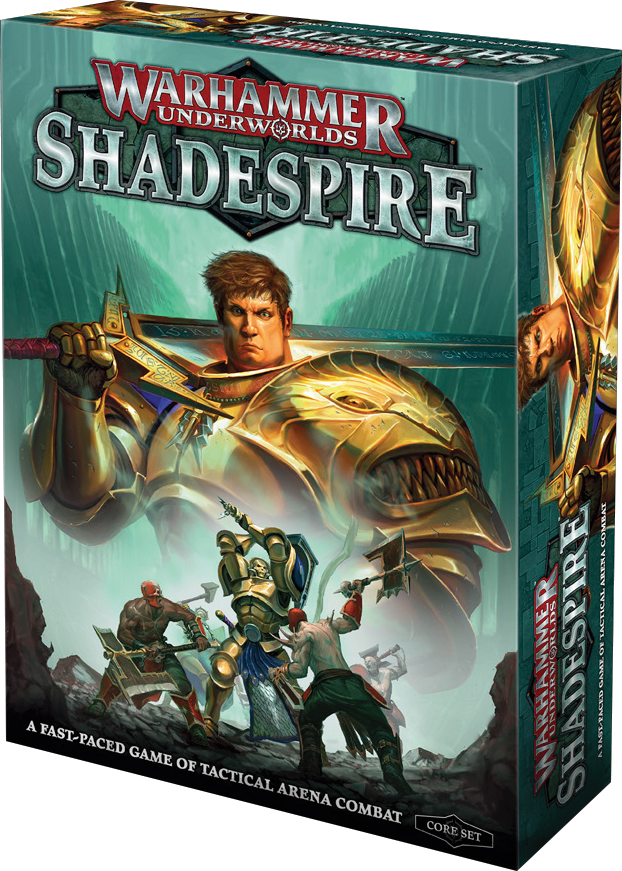 Warhammer Underworlds: Shadespire Box Front