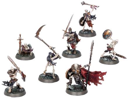 Warhammer Underworlds: Sepulchral Guard Box Front