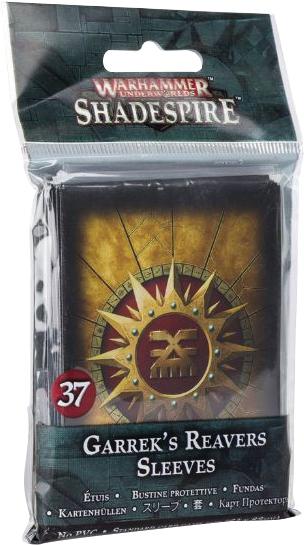 Warhammer Underworlds: Garrek`s Reavers Sleeves Box Front
