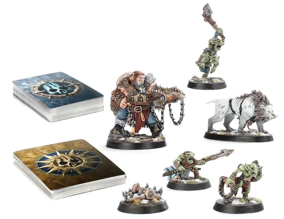 Warhammer Underworlds: Hrothgorn`s Mantrappers
