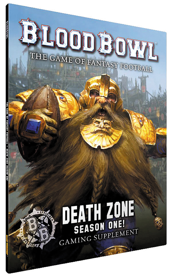 Blood Bowl: Death Zone - Season One! Box Front