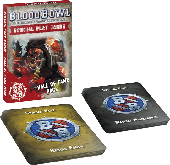 Blood Bowl: Hall Of Fame Cards Pack Box Front