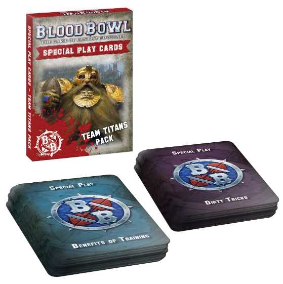 Blood Bowl: Team Titans Cards Pack Box Front