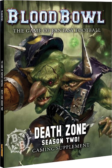Blood Bowl: Death Zone - Season Two! Box Front