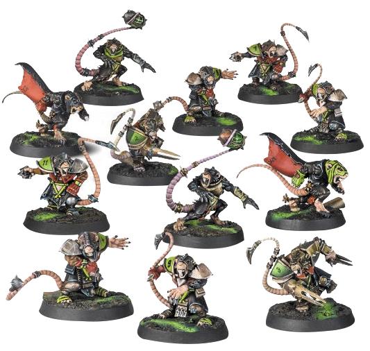 Blood Bowl: Skavenblight Scramblers (skaven Team) Box Front