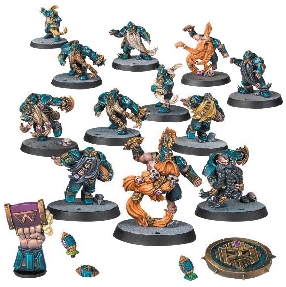 Blood Bowl: The Dwarf Giants (dwarf Team) Box Front