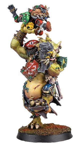 Blood Bowl: Troll Box Front