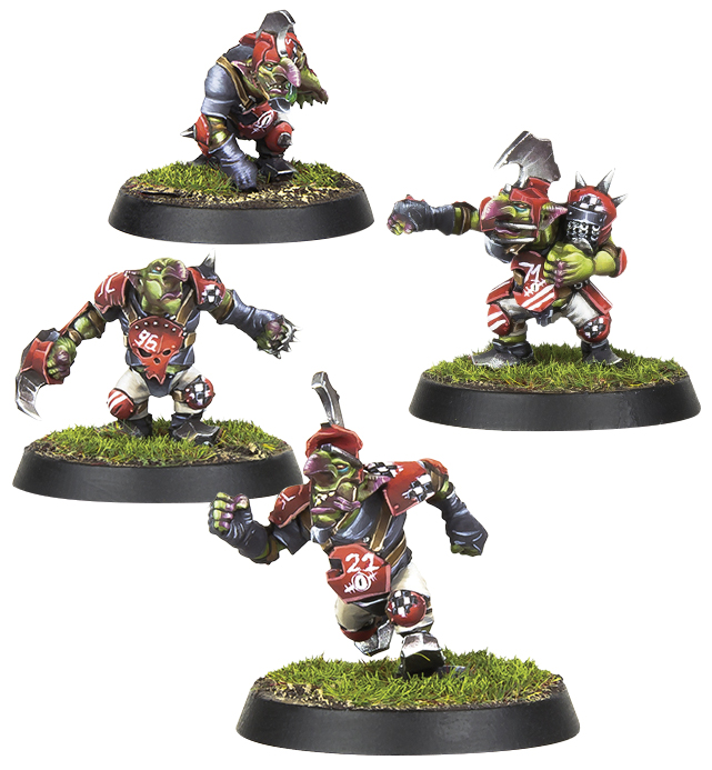 Blood Bowl: Goblin Team Booster Box Front