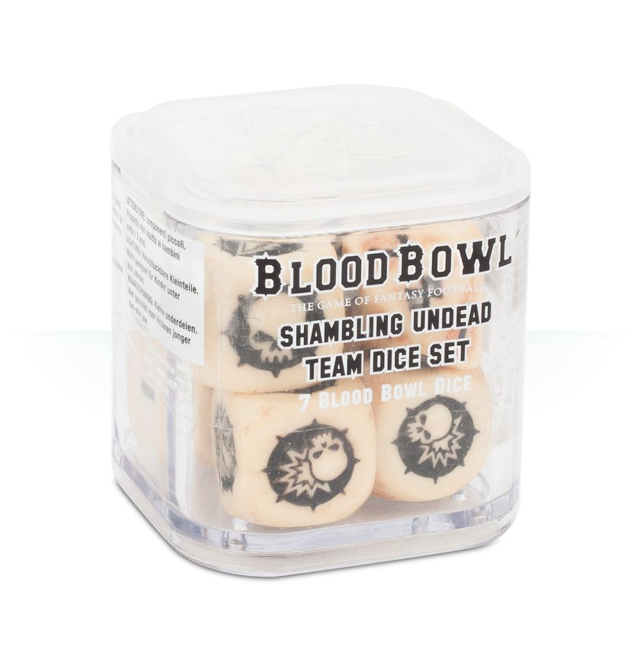 Blood Bowl: Undead Team Dice Set Game Box